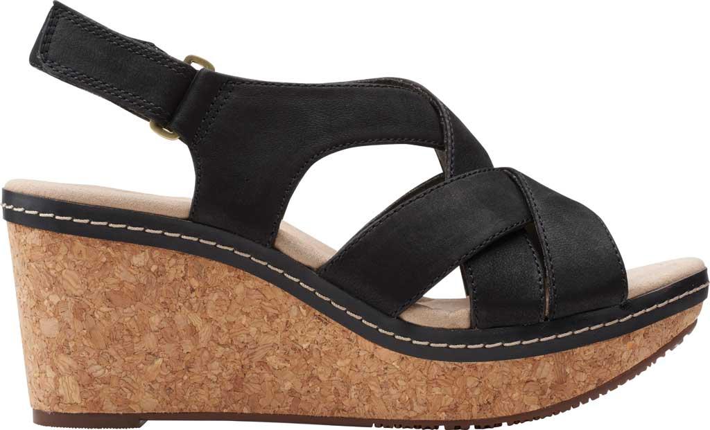Clarks Women/'s   Annadel Pearl Wedge Slingback Sandal