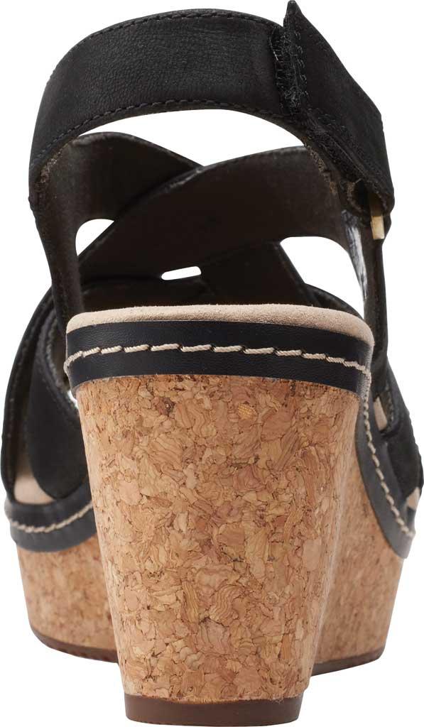 Women's Clarks Annadel Pearl Wedge Slingback Sandal, , large, image 4