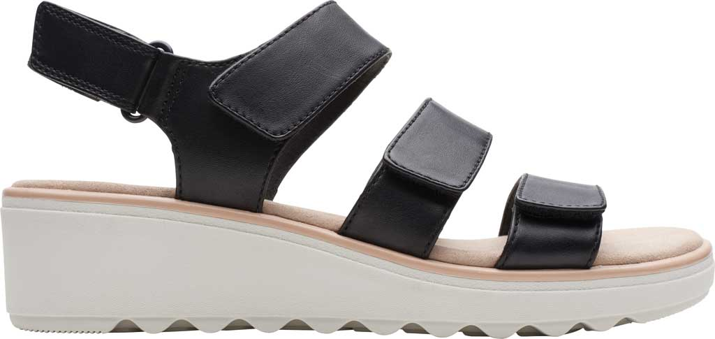 Women's Clarks Jillian Claire Strappy Wedge Sandal, , large, image 2