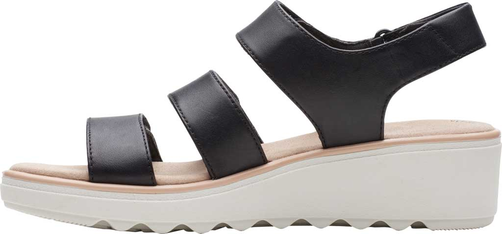 Women's Clarks Jillian Claire Strappy Wedge Sandal, , large, image 3