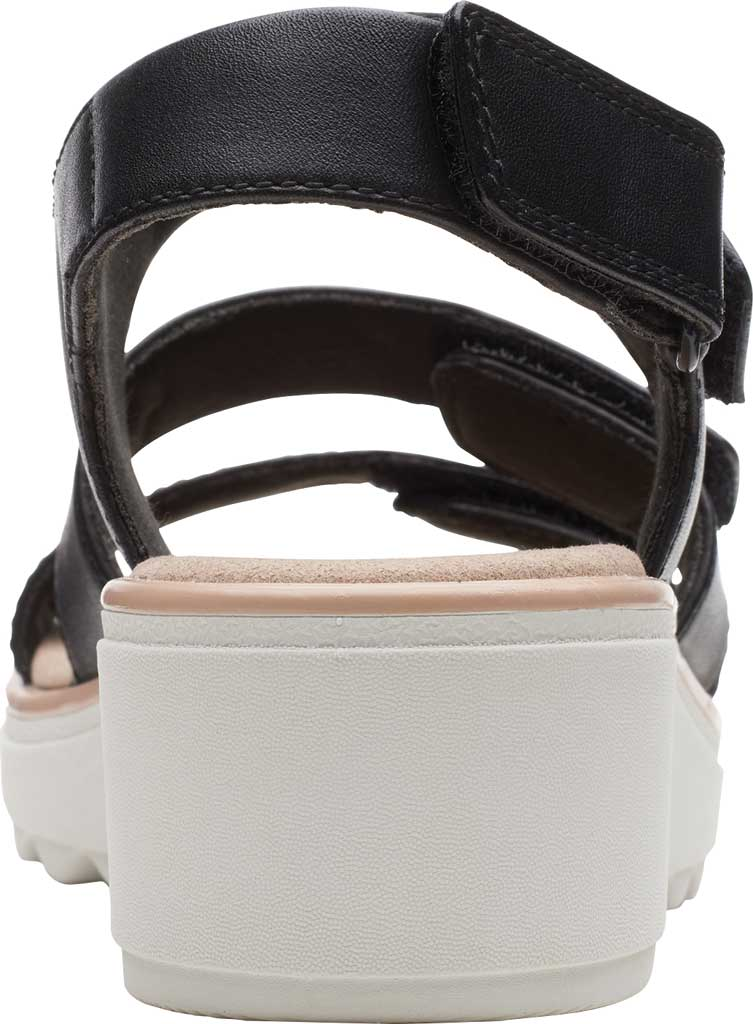 Women's Clarks Jillian Claire Strappy Wedge Sandal, , large, image 4
