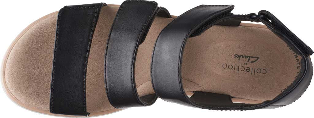 Women's Clarks Jillian Claire Strappy Wedge Sandal, , large, image 5