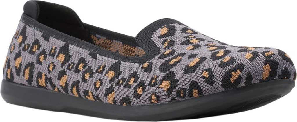 Women's Clarks Carly Dream Knit Loafer, Stone Interest Knit, large, image 1