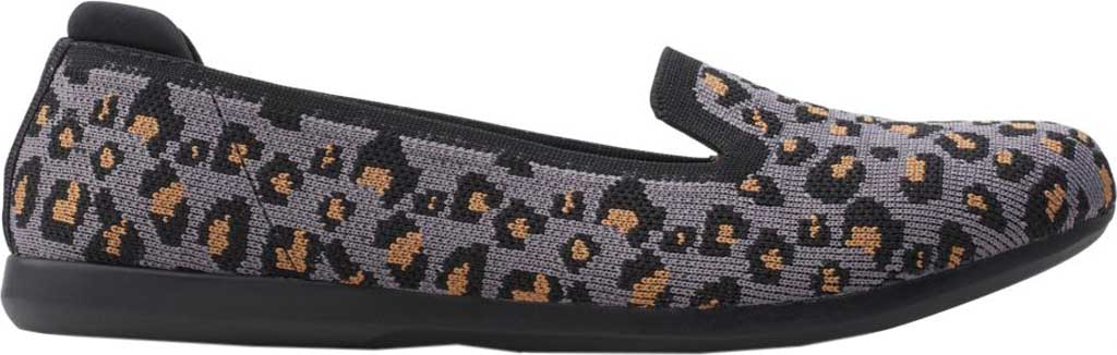 Women's Clarks Carly Dream Knit Loafer, Stone Interest Knit, large, image 2