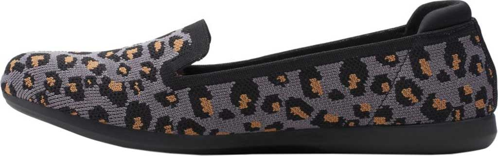 Women's Clarks Carly Dream Knit Loafer, Stone Interest Knit, large, image 3
