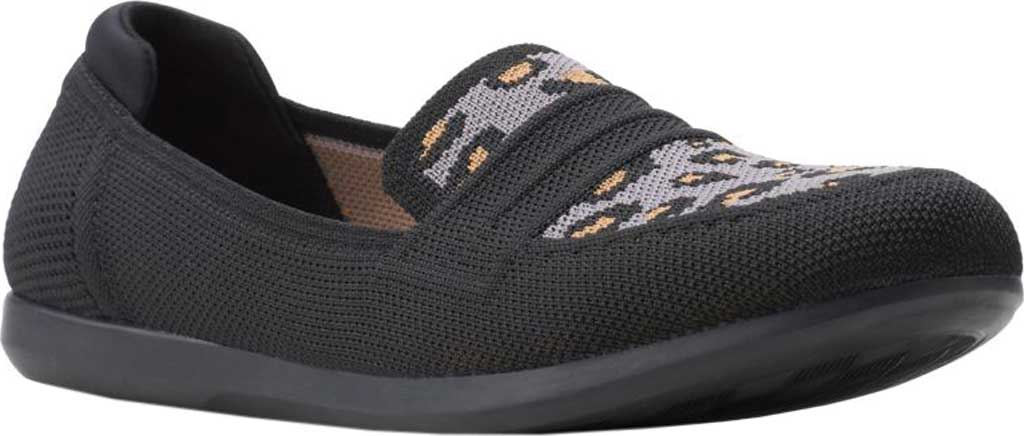 Women's Clarks Carly Charm Knit Penny Loafer, , large, image 1