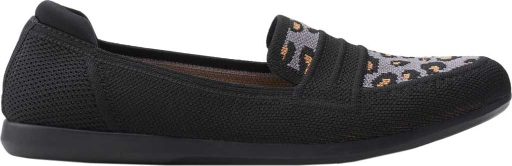 Women's Clarks Carly Charm Knit Penny Loafer, , large, image 2