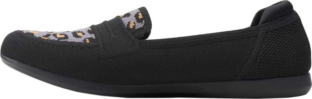 Women's Clarks Carly Charm Knit Penny Loafer, , large, image 3