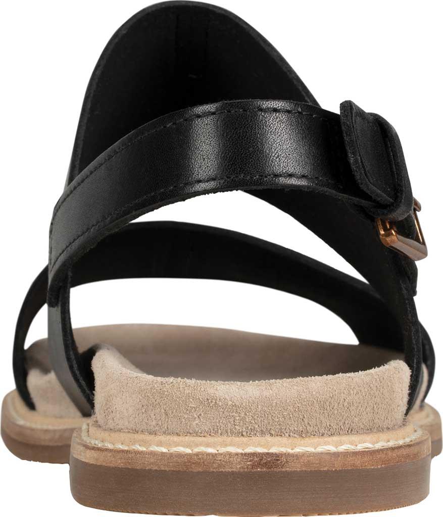 Women's Clarks Corsio Slingback Sandal, Black Leather, large, image 4