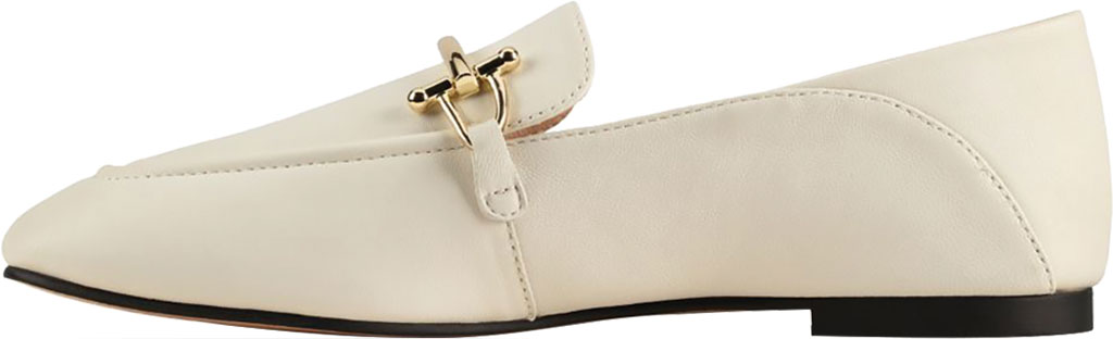 Women's Clarks Pure2 Loafer, White Leather, large, image 3