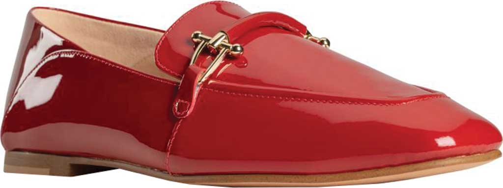 Women's Clarks Pure2 Loafer, Red Patent, large, image 1