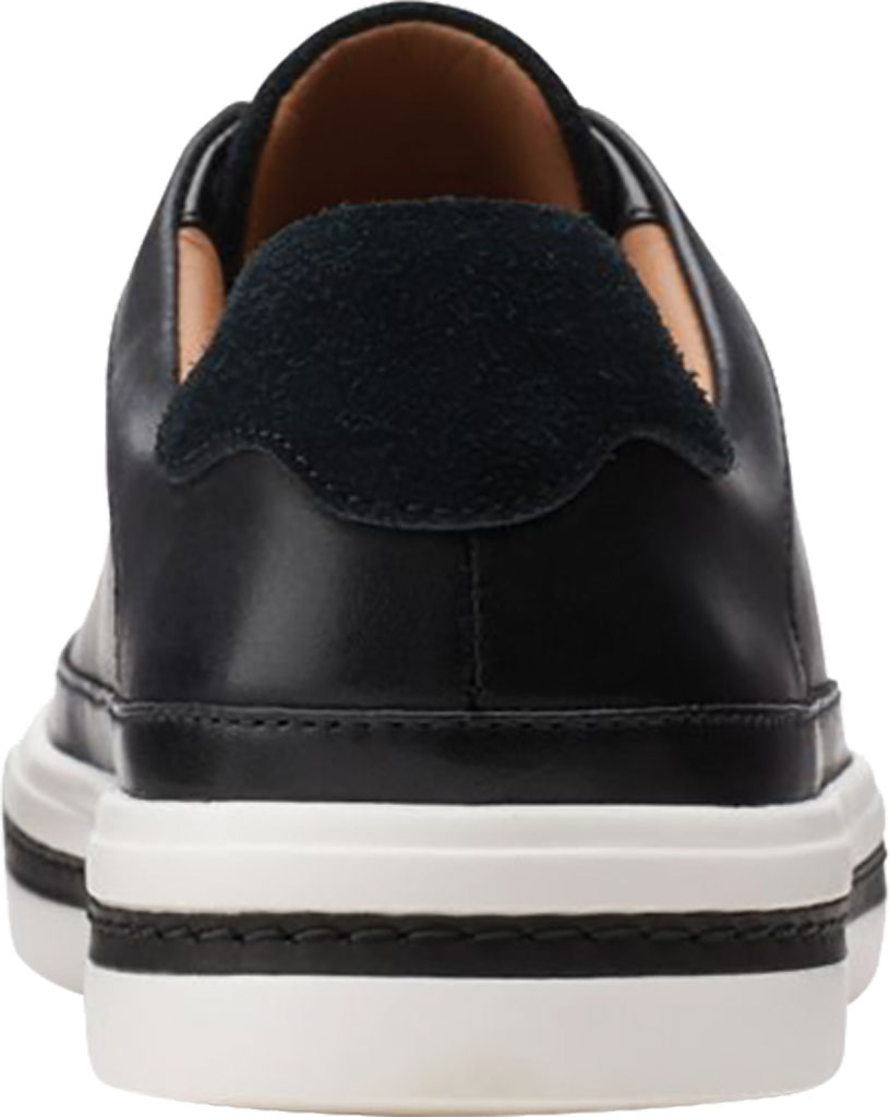 Women's Clarks Un Maui Tie Sneaker, Black Full Grain Leather, large, image 4