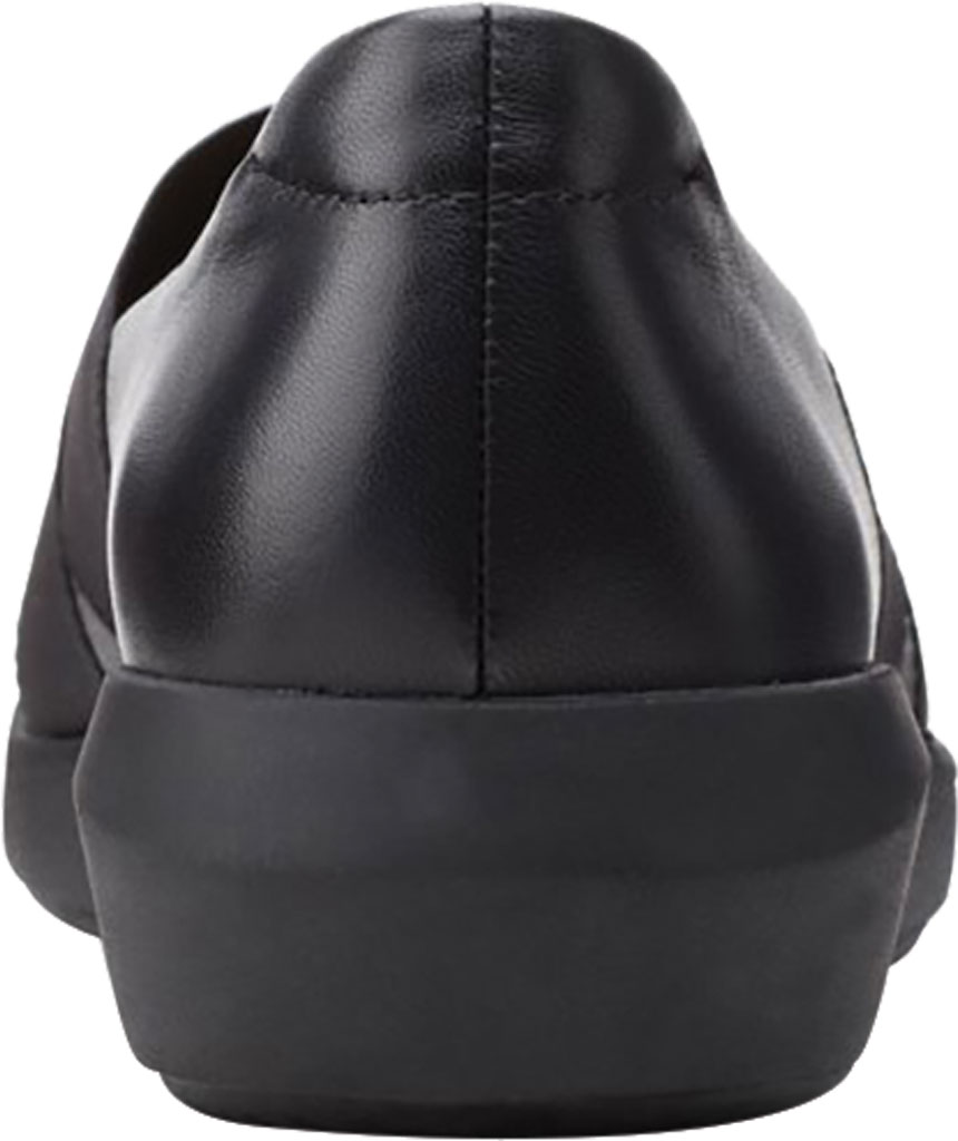 Women's Clarks Tawnia Band Slip On, Black Full Grain Leather, large, image 4