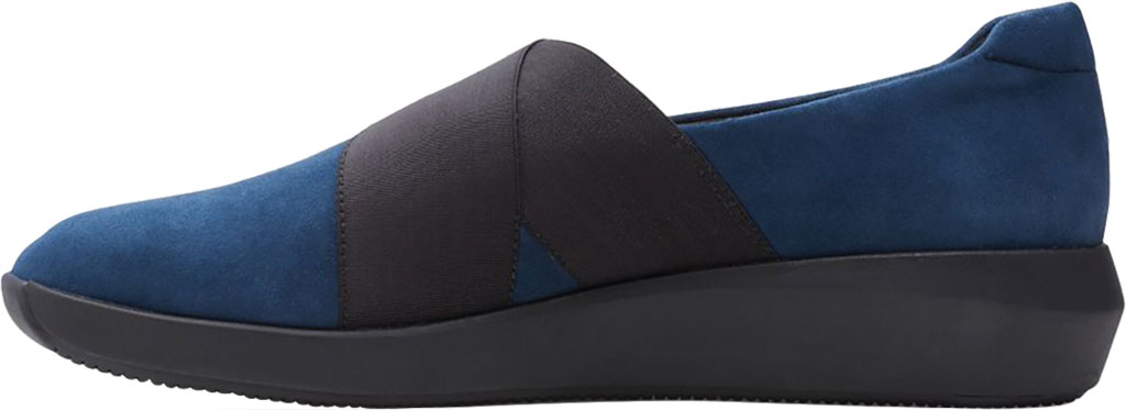 Women's Clarks Tawnia Band Slip On, Navy Suede, large, image 3