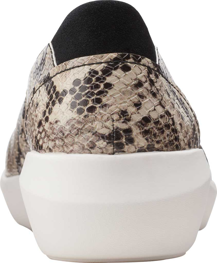 Women's Clarks Kayleigh Step Slip On Sneaker, Taupe Snake Synthetic, large, image 4