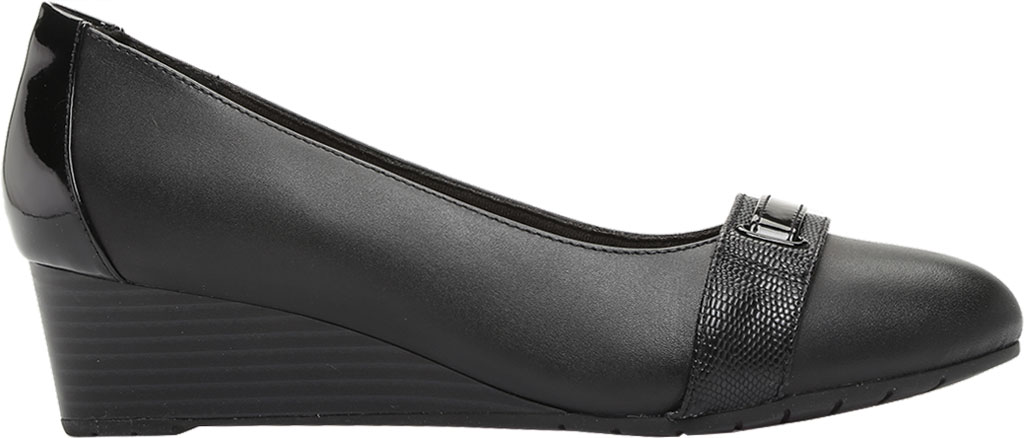 Women's Clarks Mallory Strap Wedge Pump, , large, image 2