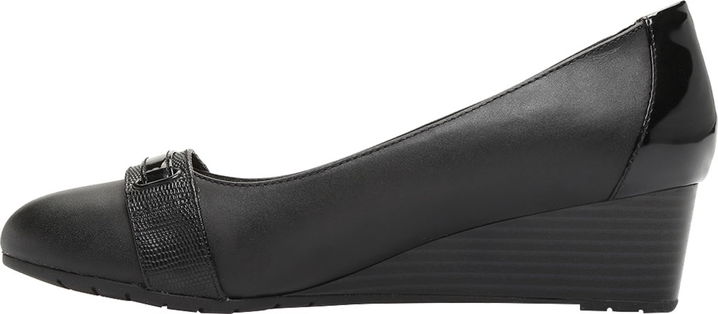 Women's Clarks Mallory Strap Wedge Pump, , large, image 3