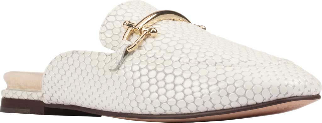 Women's Clarks Pure2 Mule, White Interest Leather, large, image 1