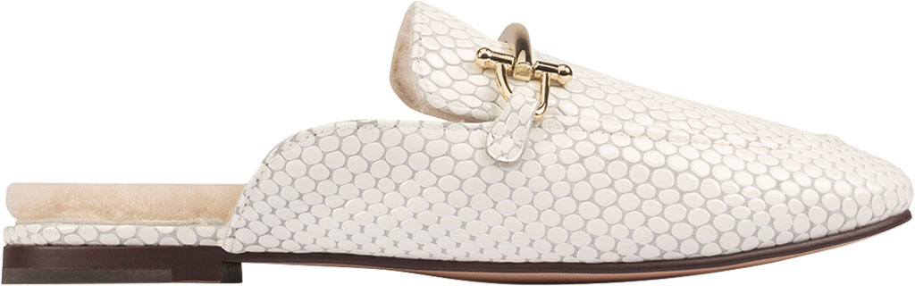 Women's Clarks Pure2 Mule, White Interest Leather, large, image 2