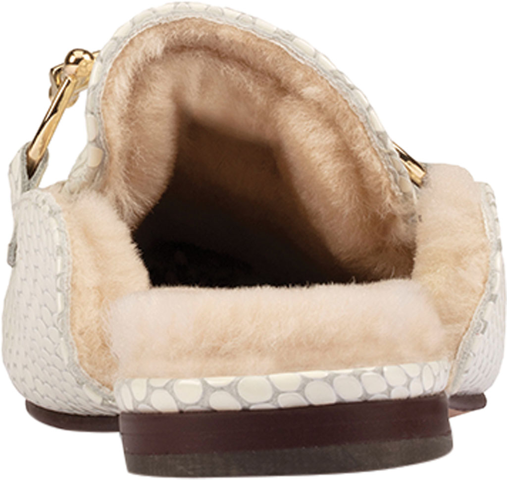 Women's Clarks Pure2 Mule, White Interest Leather, large, image 4