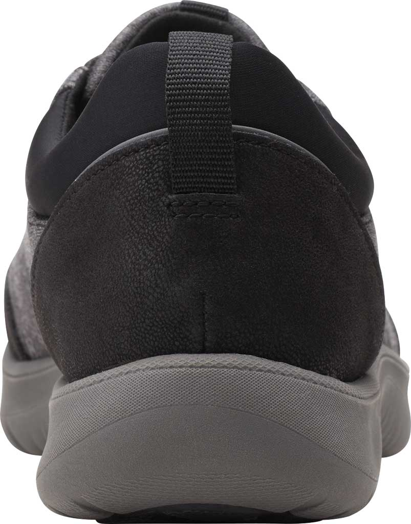 Women's Clarks Adella Holly Sneaker, Black Heathered Textile, large, image 4