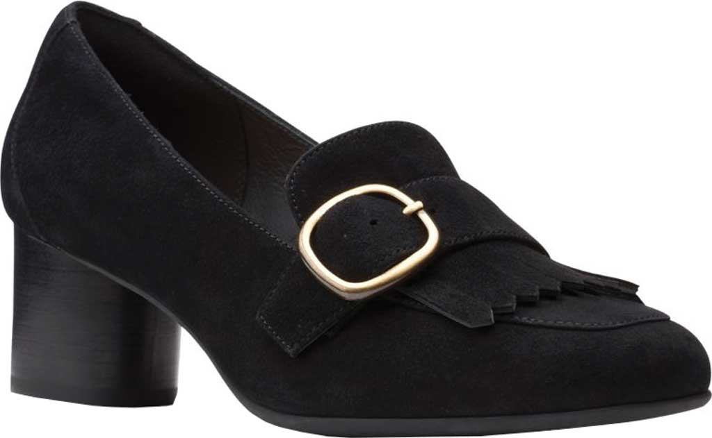 Women's Clarks Un Cosmo Go Heeled Loafer, , large, image 1