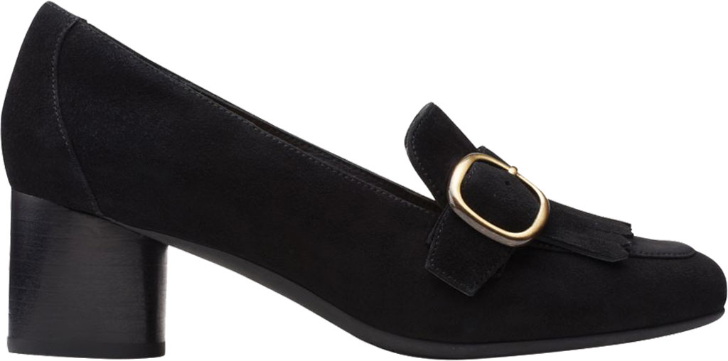 Women's Clarks Un Cosmo Go Heeled Loafer, , large, image 2
