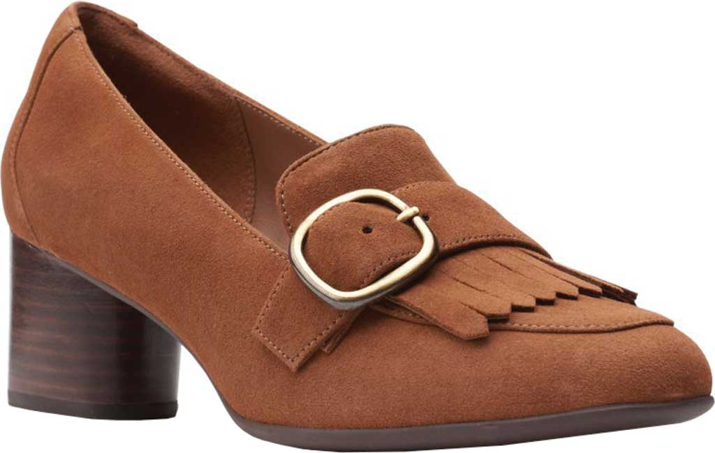 Clarks Women/'s   Un Cosmo Go Heeled Loafer
