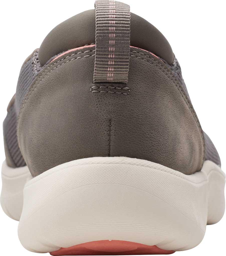 Women's Clarks Adella Blush Slip On Sneaker, Stone Sparkle Textile, large, image 4