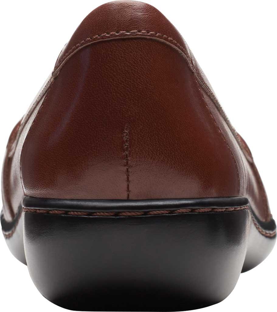 Women's Clarks Ashland Ballot Loafer, Mahogany Leather, large, image 4