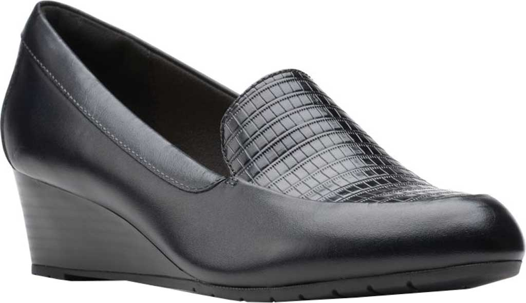 Women's Clarks Mallory Pearl Wedge Heel, , large, image 1