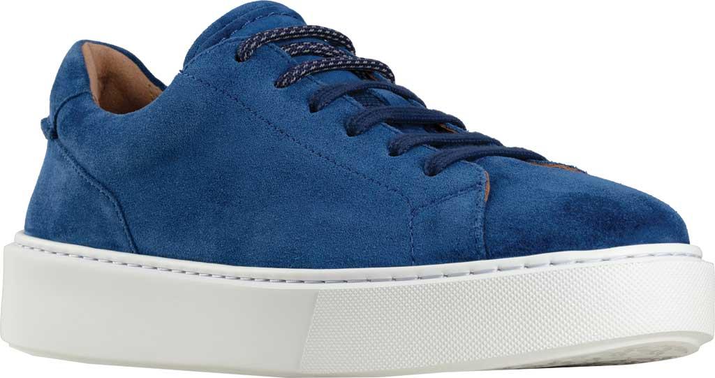 Men's Clarks Hero Lite Lace Sneaker, Blue Suede, large, image 1