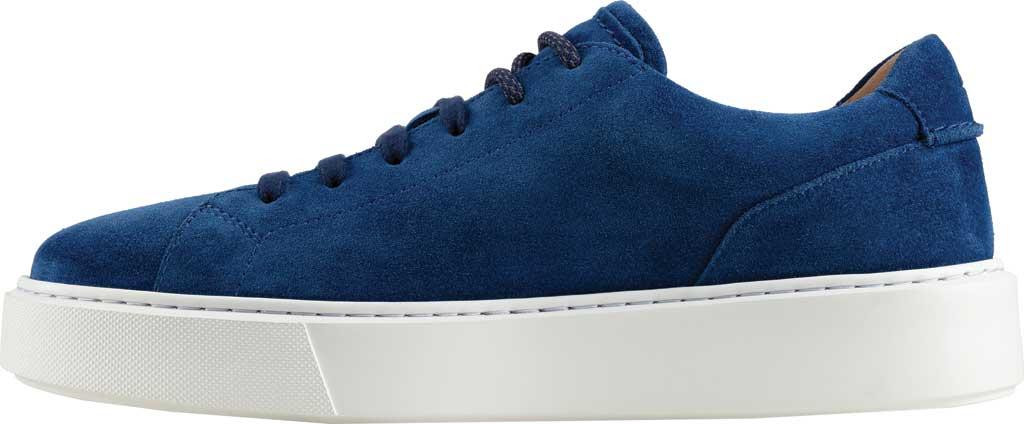 Men's Clarks Hero Lite Lace Sneaker, Blue Suede, large, image 3