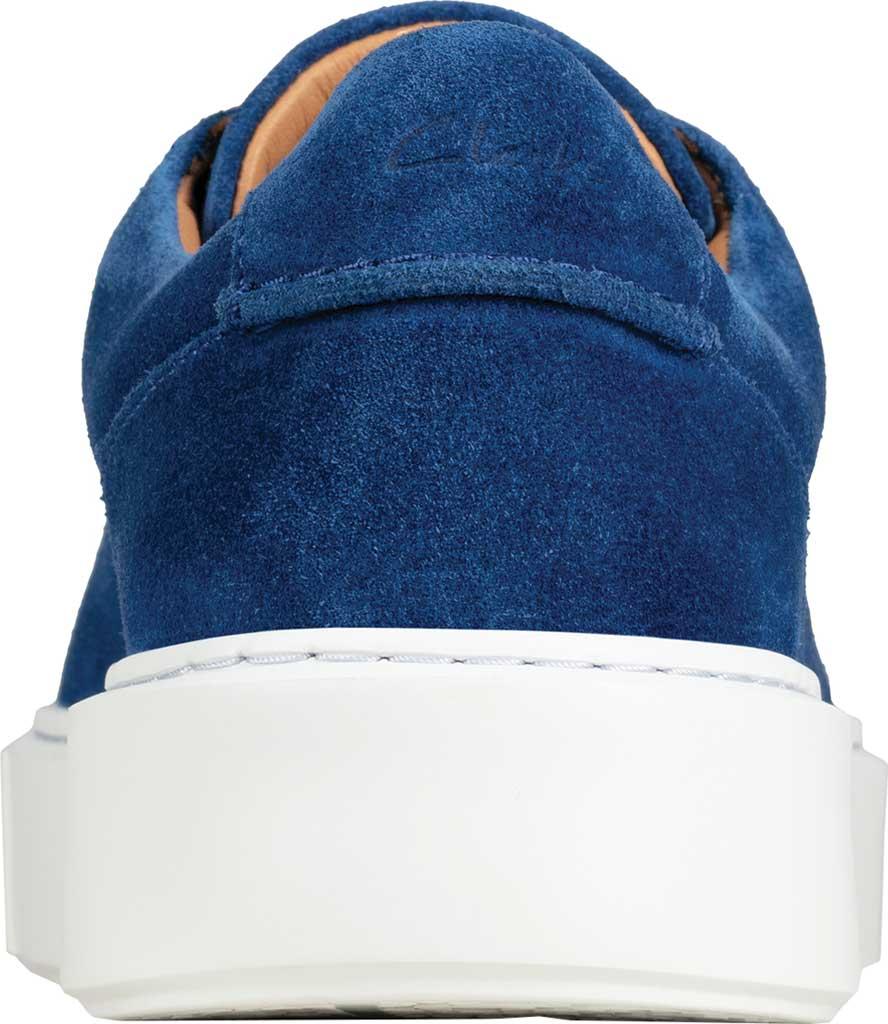 Men's Clarks Hero Lite Lace Sneaker, Blue Suede, large, image 4
