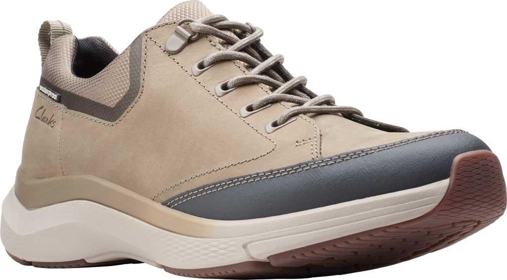 Men's Clarks Wave 2.0 Vibe Sneaker, Sage Nubuck, large, image 1