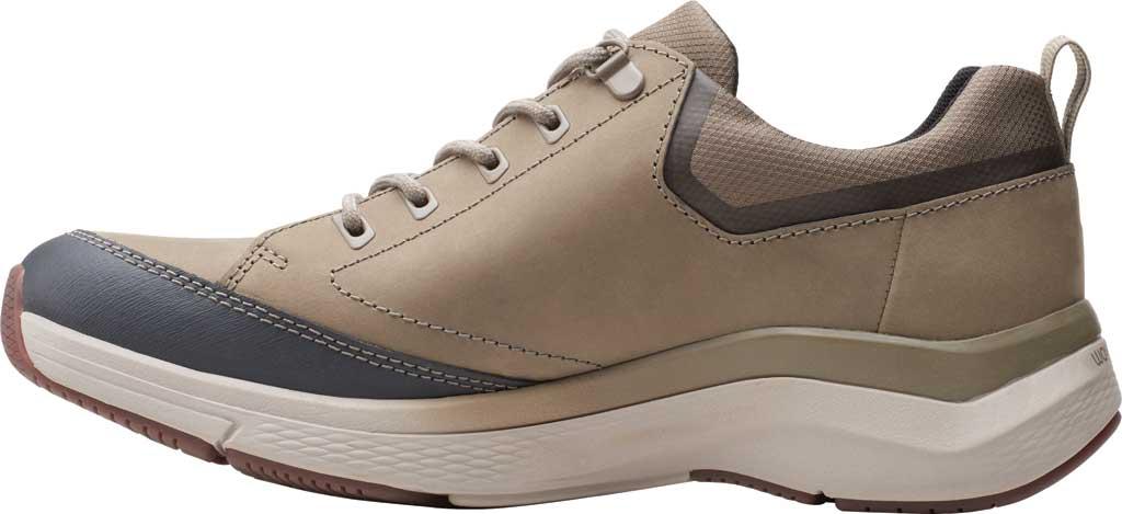 Men's Clarks Wave 2.0 Vibe Sneaker, Sage Nubuck, large, image 3