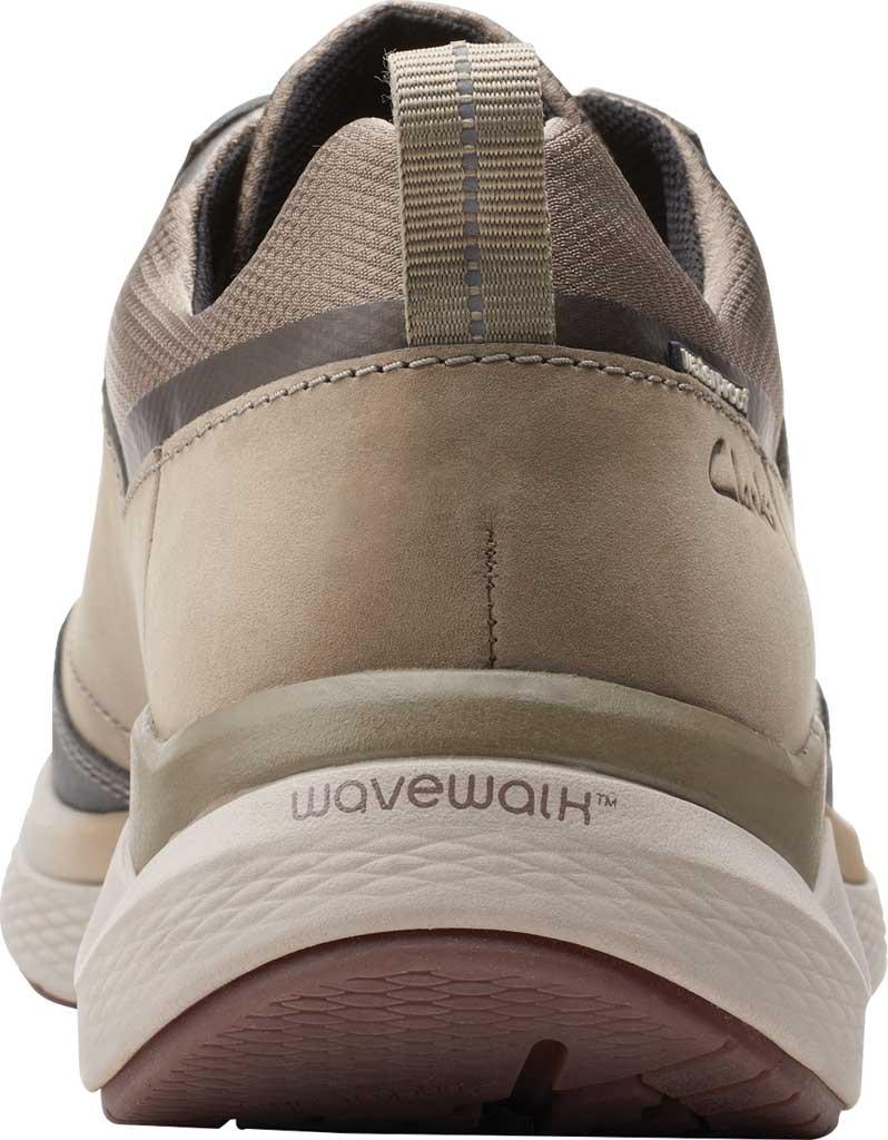 Men's Clarks Wave 2.0 Vibe Sneaker, Sage Nubuck, large, image 4