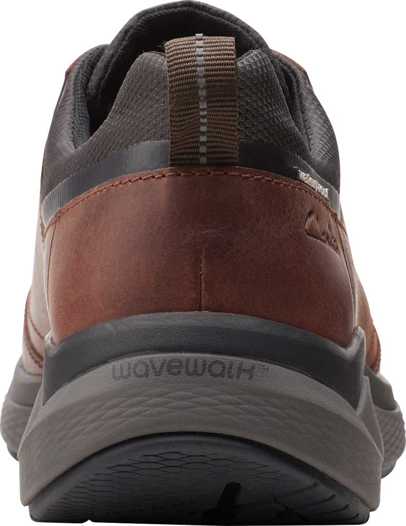 Men's Clarks Wave 2.0 Vibe Sneaker, Brown Oily Tumbled Leather, large, image 4
