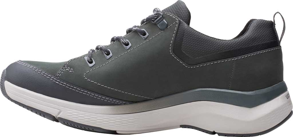 Men's Clarks Wave 2.0 Vibe Sneaker, Dark Grey Nubuck, large, image 3