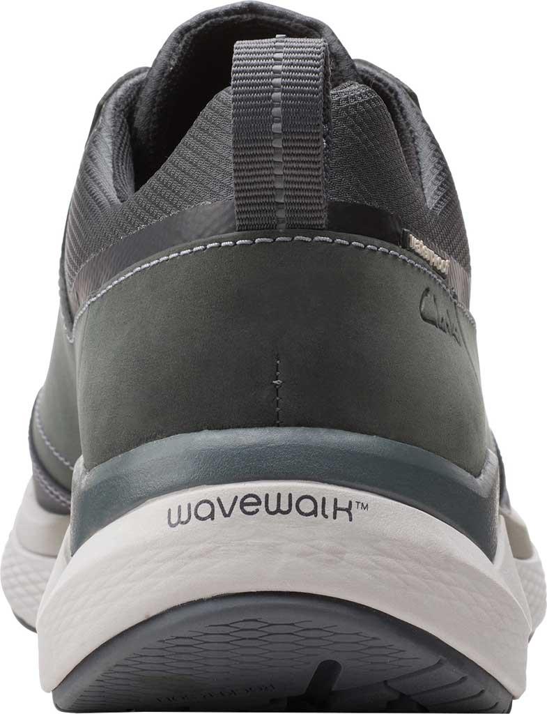 Men's Clarks Wave 2.0 Vibe Sneaker, Dark Grey Nubuck, large, image 4