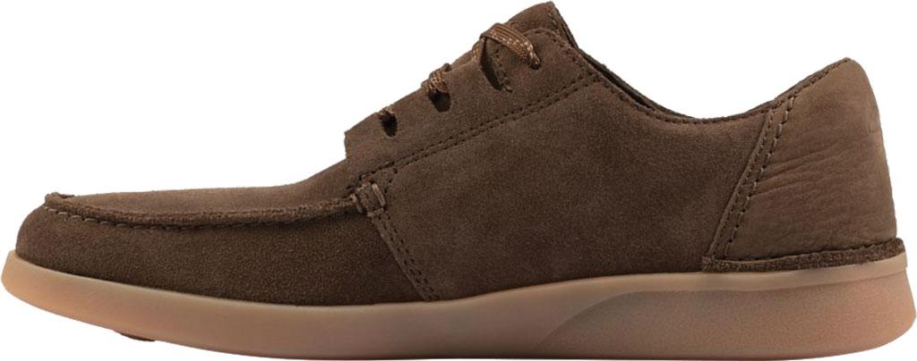 Men's Clarks Oakland Walk Sneaker, Dark Olive Combination Nubuck, large, image 3