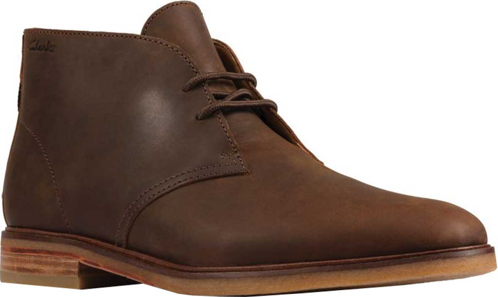 Men's Clarks Clarkdale DBT Chukka Boot, Beeswax Leather, large, image 1