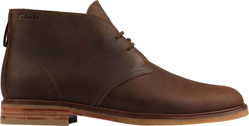 Men's Clarks Clarkdale DBT Chukka Boot, Beeswax Leather, large, image 2