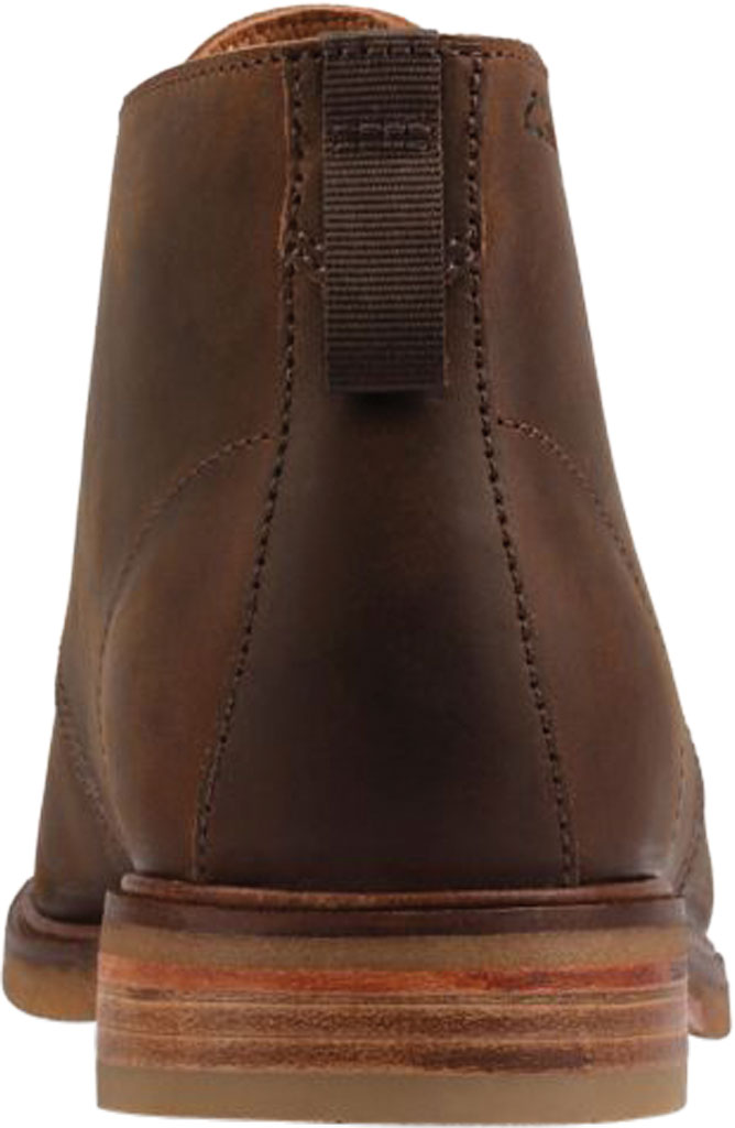Men's Clarks Clarkdale DBT Chukka Boot, Beeswax Leather, large, image 4