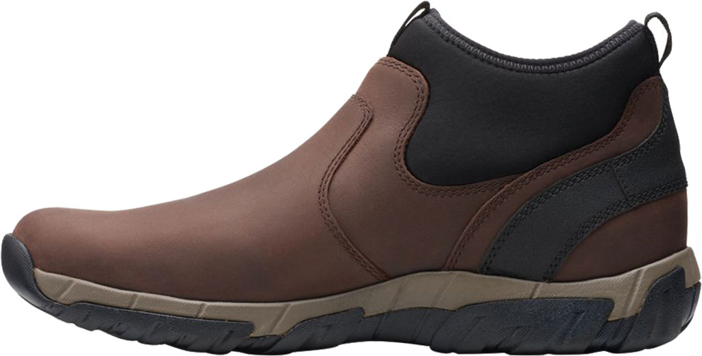 Men's Clarks Grove Up Waterproof Boot, Brown Full Grain Leather, large, image 3