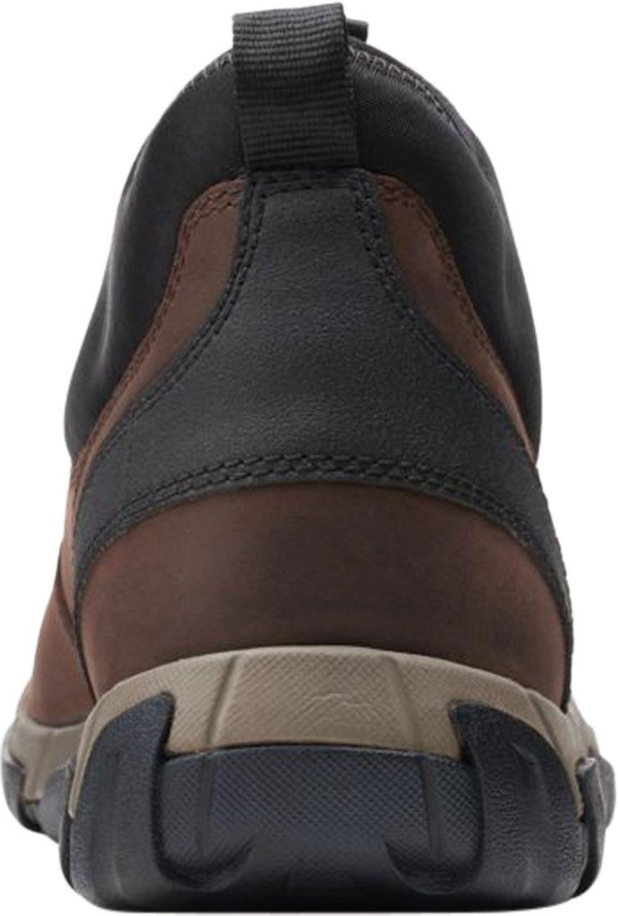 Men's Clarks Grove Up Waterproof Boot, Brown Full Grain Leather, large, image 4