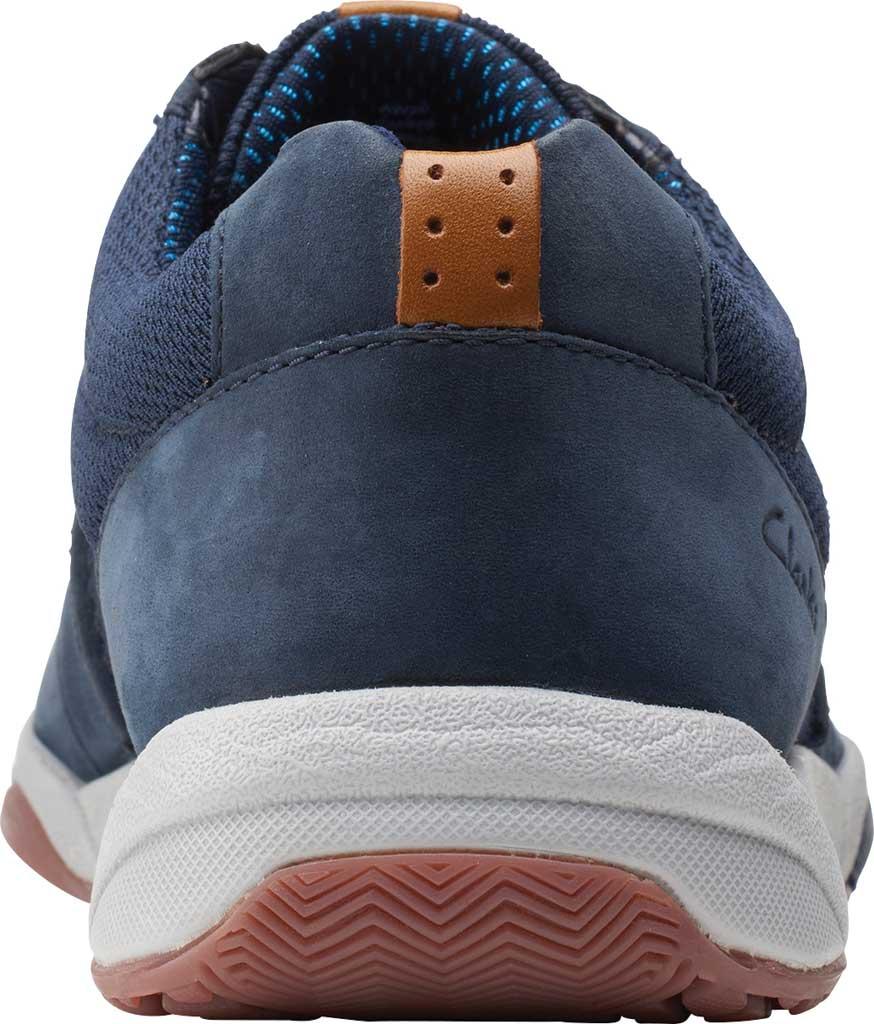 Men's Clarks Langton Race Sneaker, Navy Nubuck, large, image 4
