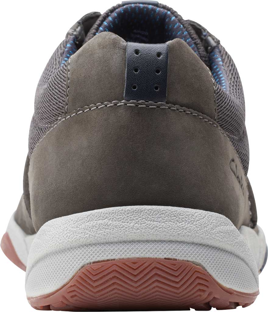 Men's Clarks Langton Race Sneaker, Grey Nubuck, large, image 4