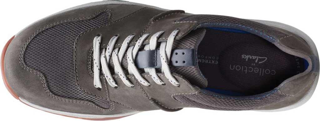 Men's Clarks Langton Race Sneaker, Grey Nubuck, large, image 5