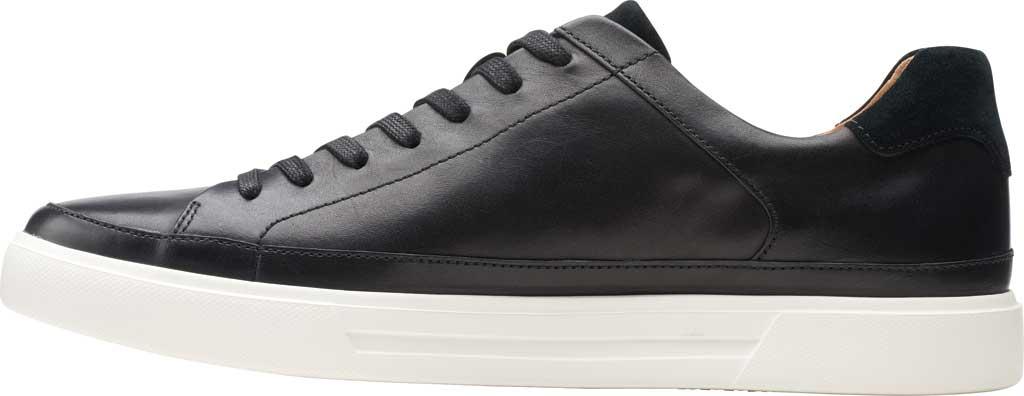 Men's Clarks Un Costa Tie Sneaker, Black Full Grain Leather/Nubuck, large, image 3